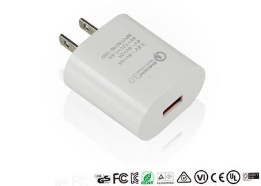 Gute Qualität Ac Dc Power Adapter & Stecker-Schnelladungs-Adapter Qc3.0 Qualcomms US fasten Aufladungsadapter-Minigröße disponibles à la vente